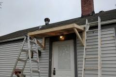 Door Overhang Construction