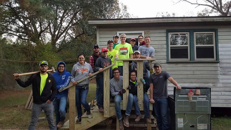 Thanksgiving Break 16 Deck Build