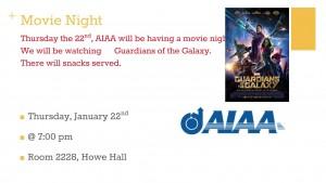 AIAA Movie